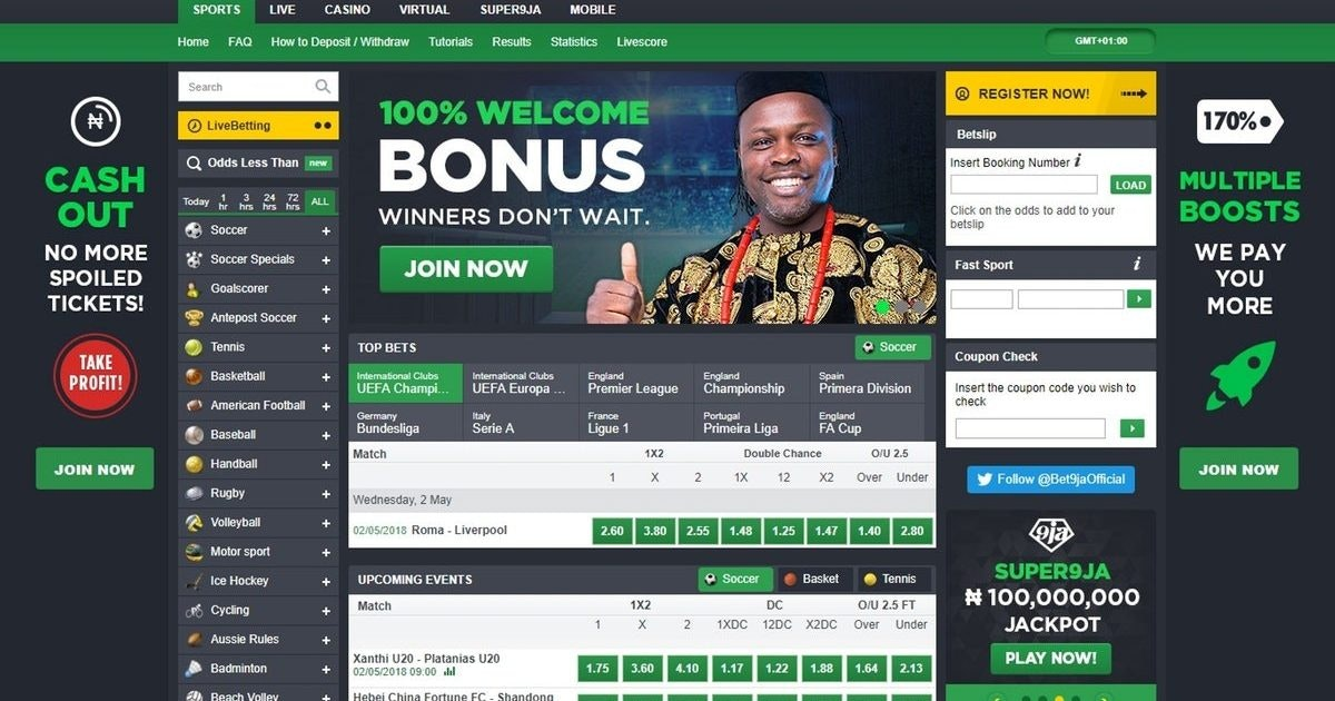 New betting sites in nigeria lagos spread betting and cfd difference between then and than