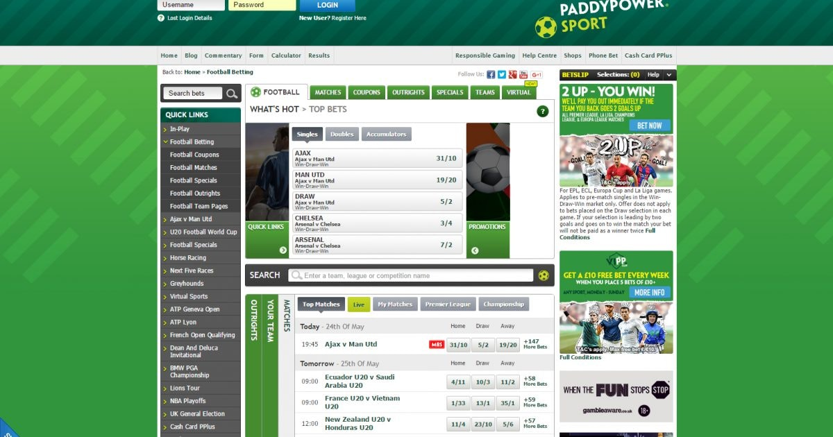 Canadian Paddy Power Sportsbook Review
